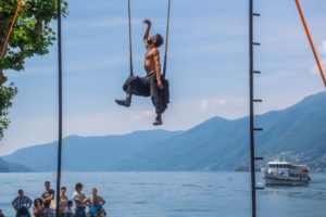 Adriano Cangemi- aerial theatre