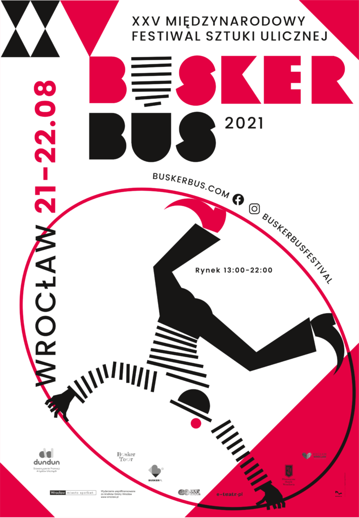 Poster of BuskerBus 2021 in Wrocław