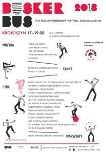 BuskerBus 2018 w Krotoszynie - lista artystów