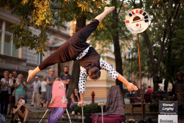 Hayatonnu... - pokaz podczas Festiwalu BuskerBus