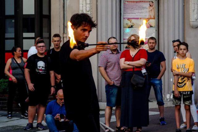 Krzysztof Czarski - pokaz uliczny