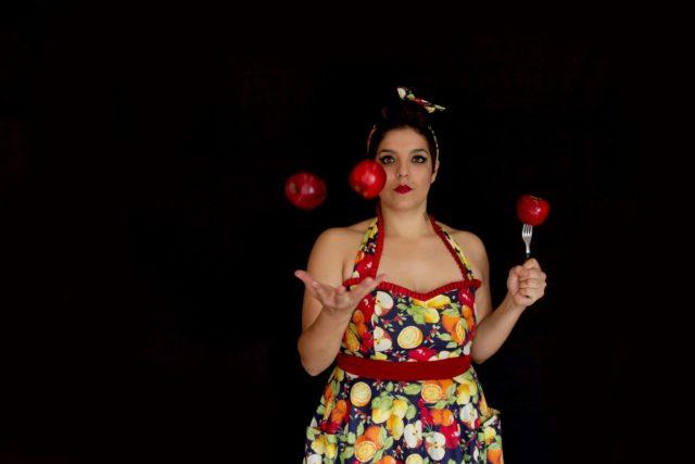 Paine Santamaria - pokaz żonglerki