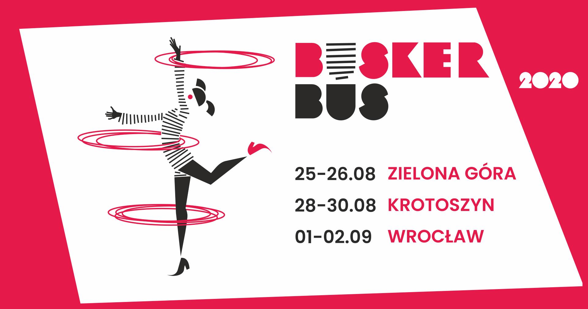 BuskerBus 2020 grafika promocyjna